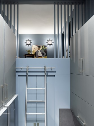 Фото №12 - Двухэтажная квартира «на Патриках»: проект Аллы Шумейко