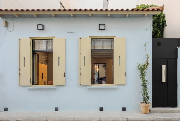 Фото №9 - Дизайнерский гостевой дом в Афинах