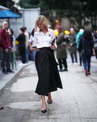 Фото №3 - Как выбрать идеальную юбку по типу фигуры