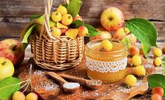 Яблочный джем с цедрой и анисом