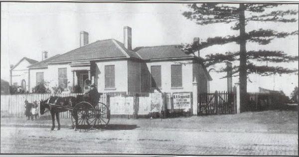 Особняк Кембридж-холл, в котором жила семья Элизы Донниторн