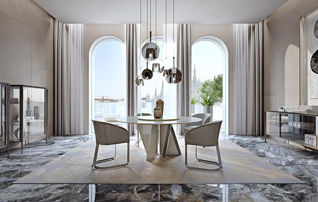 Фото №2 - Новый стол Milano итальянской марки Turri