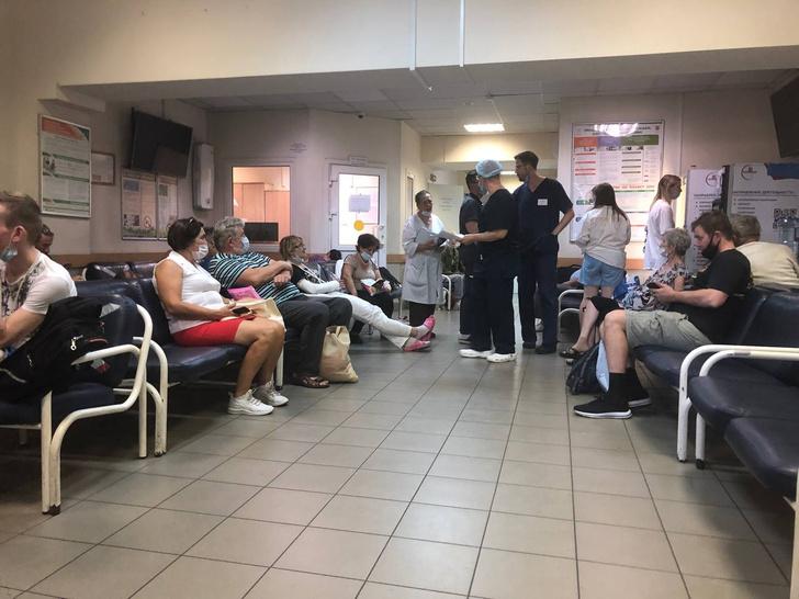 Фото №4 - «Нековидные» больницы превратились в ад— честный репортаж из приемного отделения