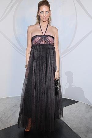 Фото №3 - Беременная Кьяра Ферраньи в секси-образах: 5 луков на Неделе моды