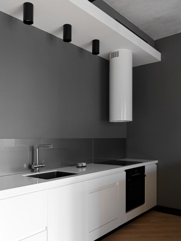 Фото №7 - Апартаменты в стиле минимализм на Маяковской