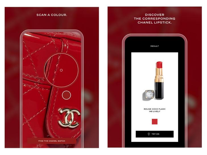 Фото №1 - «Бьюти-сканер» Chanel, который идеально подбирает оттенки помад