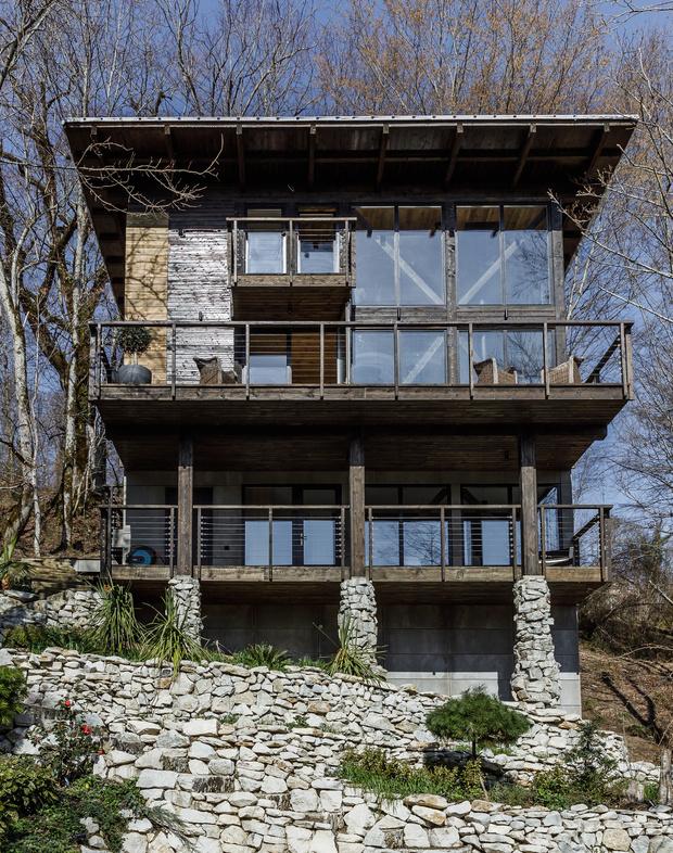 Фото №1 - В стиле кантри: дом 130 м² в Сочи