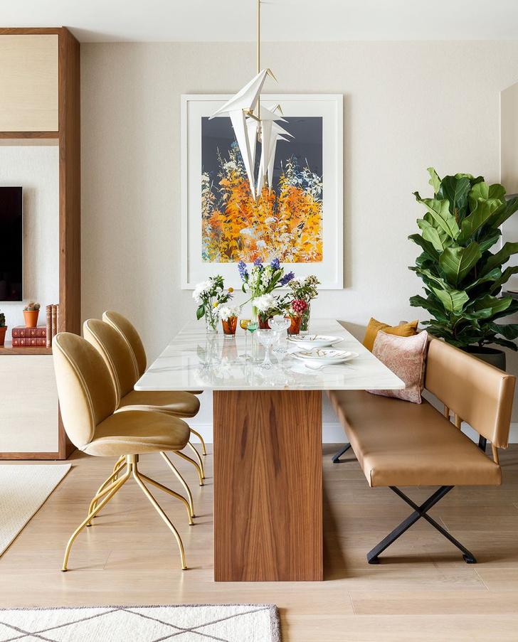 Фото №5 - Элегантная квартира с яркими акцентами в Лондоне