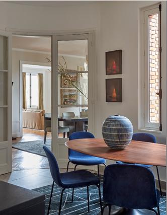 Фото №4 - Стильная парижская квартира для американской пары