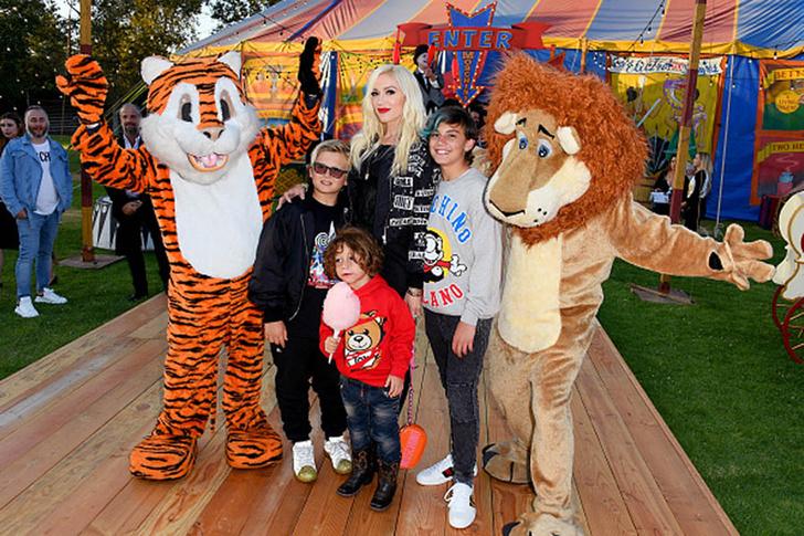 Гвен Стефани с детьми фото