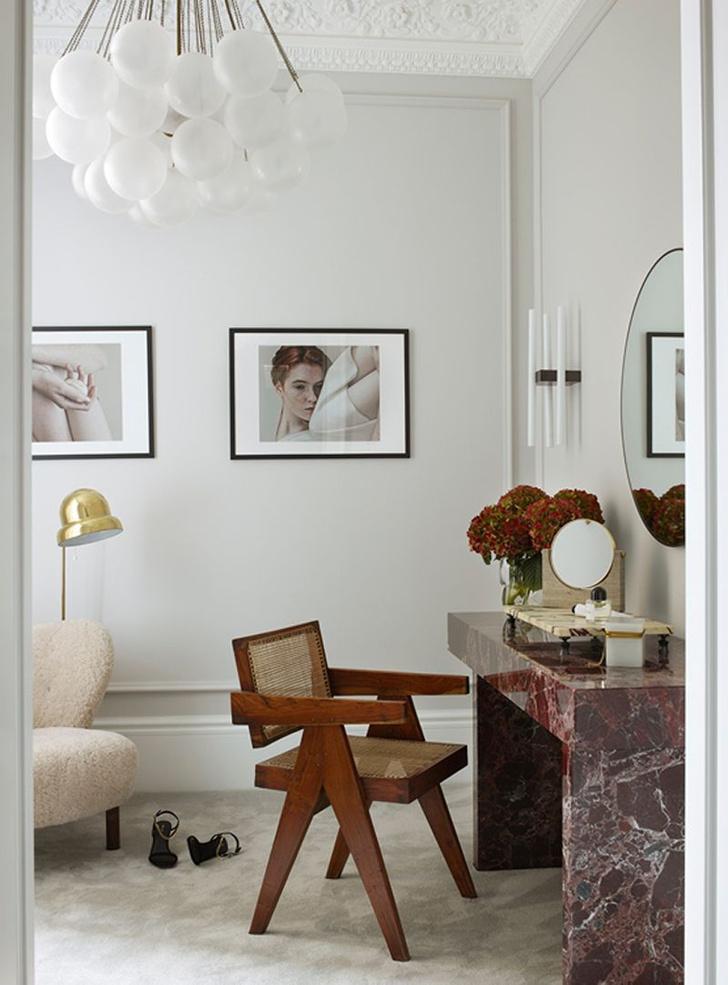 Фото №13 - Светлая квартира с винтажной мебелью в Лондоне