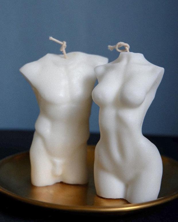 Фото №2 - White fall: фигурные свечи Ululu для романтических осенних вечеров дома
