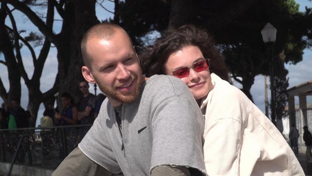 Антон Криворотов и Лиза Адаменко