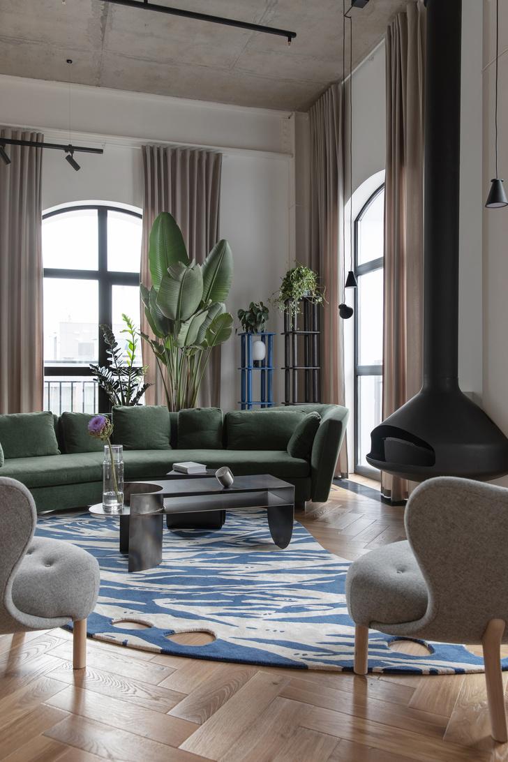 Фото №5 - Минималистичная квартира в лофт-апартаментах в Москве