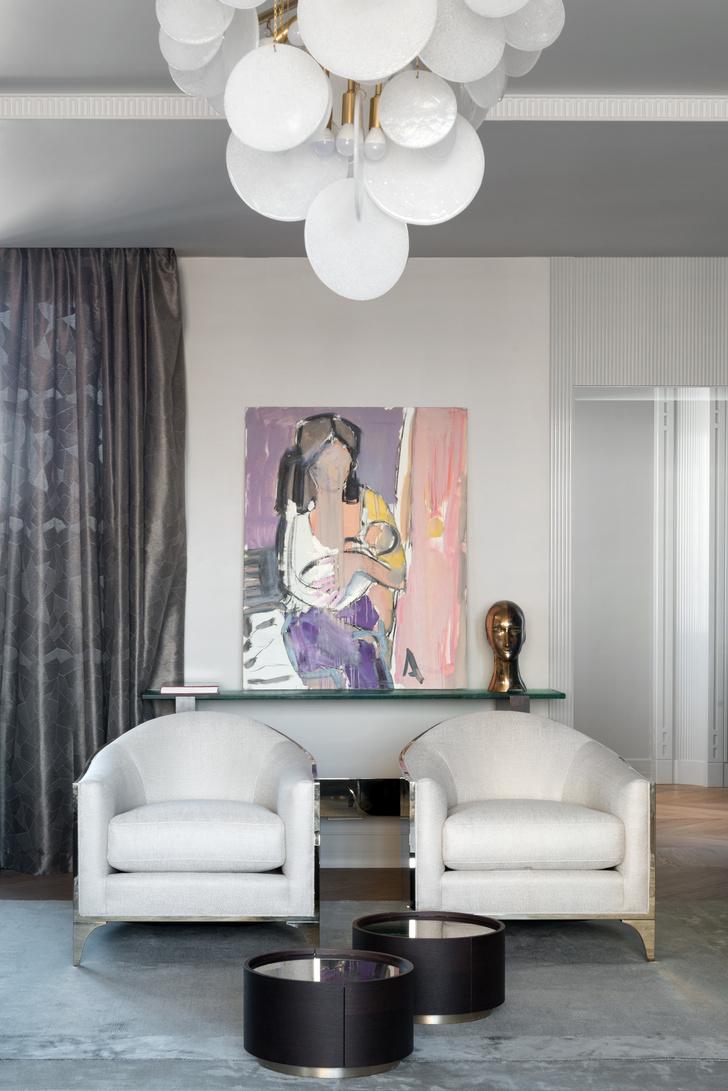 Фото №4 - Современный интерьер для коллекционеров искусства