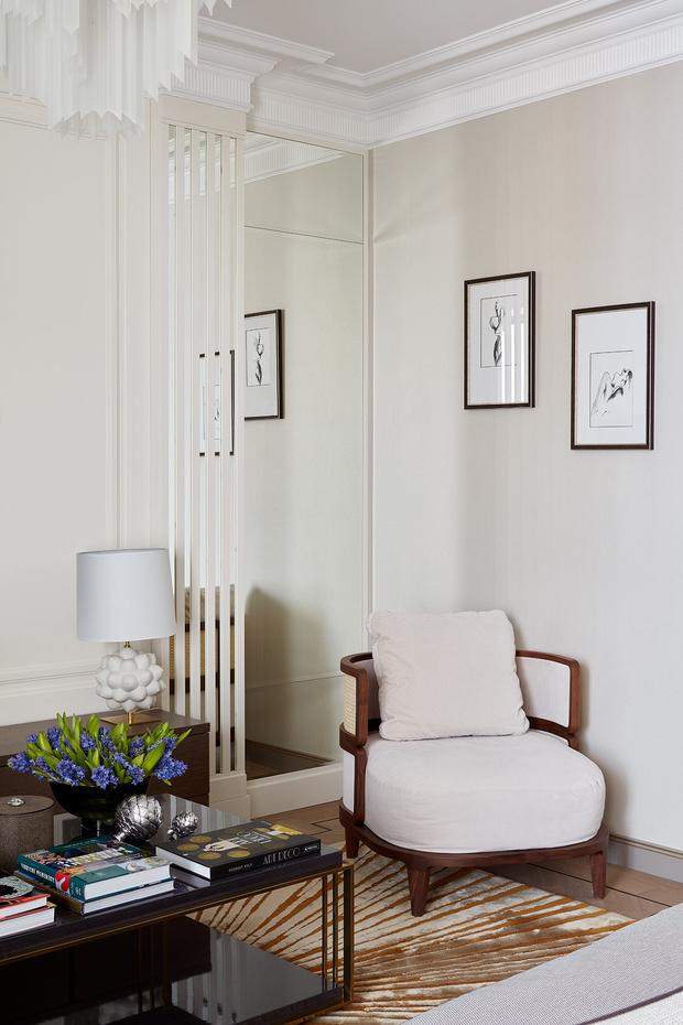 Фото №4 - Классическая квартира с латунными акцентами
