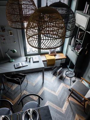 Фото №10 - Квартира 26 м² со спальней на антресоли