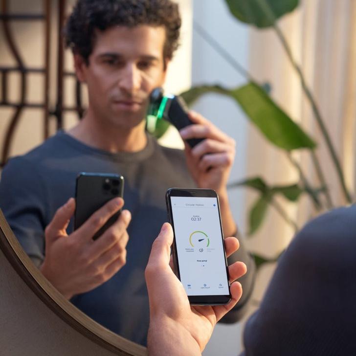 Фото №4 - Philips представляет бритву с искусственным интеллектом