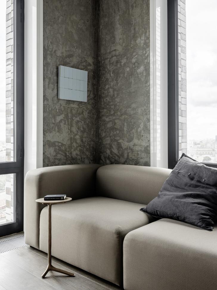 Фото №4 - Маленькая квартира 50 м² с панорамными видами в Москве