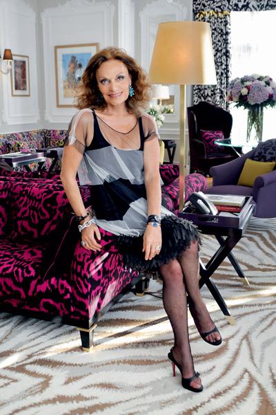 Диана фон Фюрстенберг. С2006 года она является президентом Американского совета дизайнеров моды.