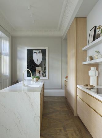 Фото №7 - Светлая квартира с винтажной мебелью в Лондоне