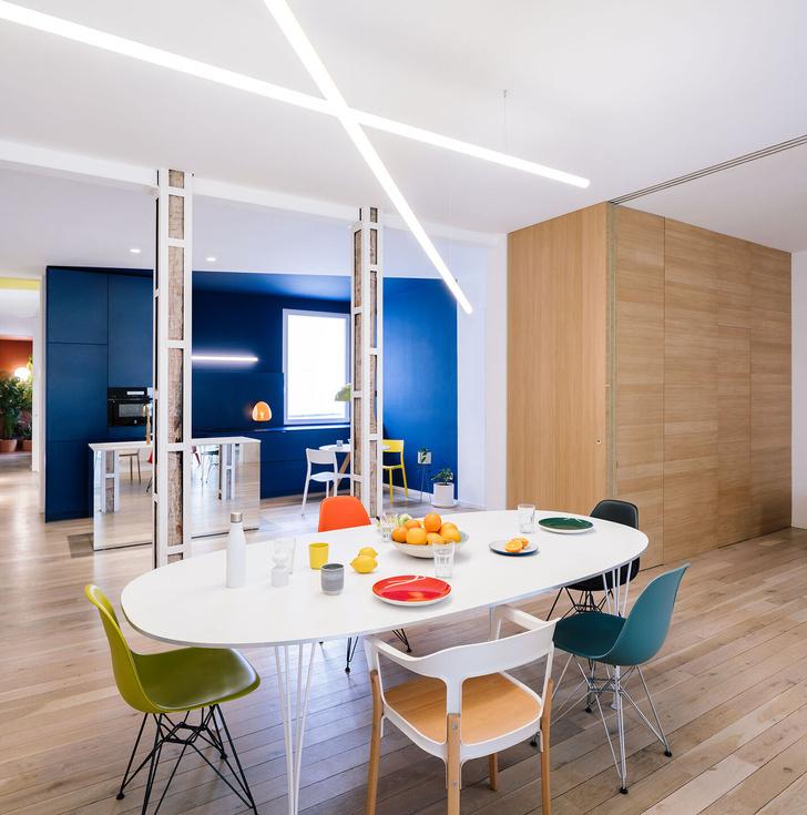 Фото №3 - Яркая квартира в Мадриде