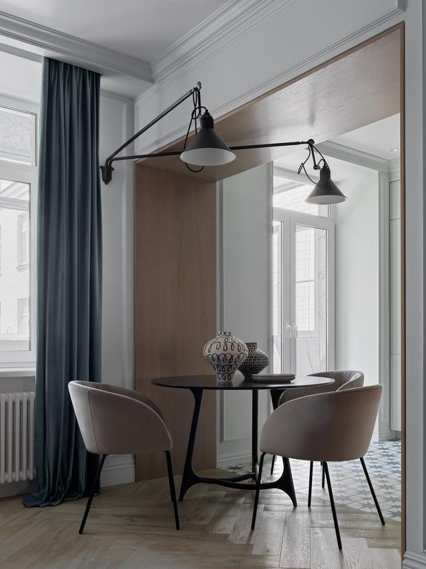 Фото №7 - Современный дизайн квартиры 100 м² в московской сталинке