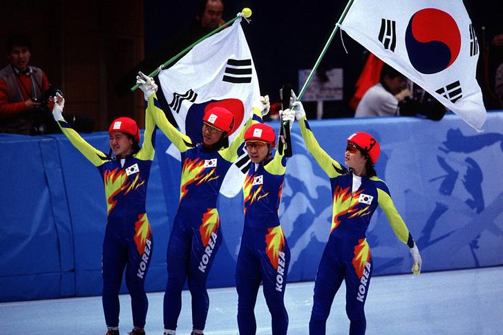 Ким Юн Ми фото олимпиада