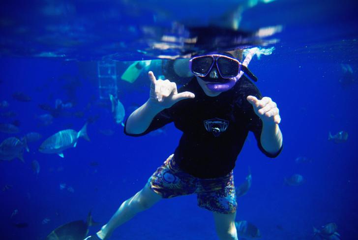 Фото №1 - Почему человек плохо видит в воде?