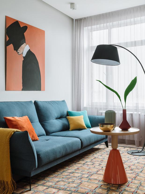 Фото №3 - 7 способов добавить цвет в интерьер