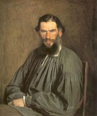 Иван Крамской. Портрет Льва Николаевича Толстого (1873)