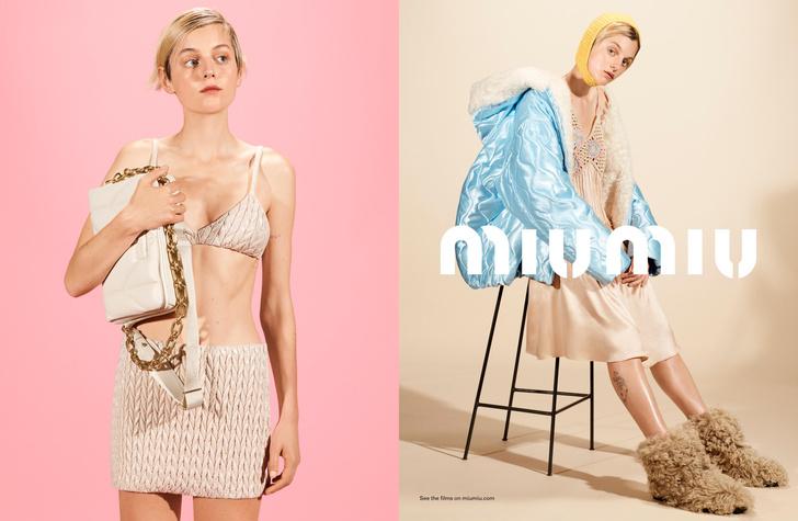 Фото №1 - Сила в красоте: Эмма Коррин в рекламной кампании Miu Miu