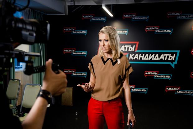 Фото №1 - Неудобные вопросы: кто вывел Ксению Собчак из равновесия?