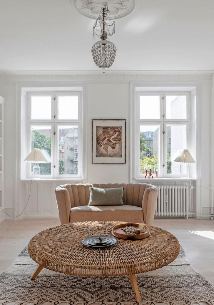 Фото №1 - Квартира модельера Бритт Сиссек в Копенгагене