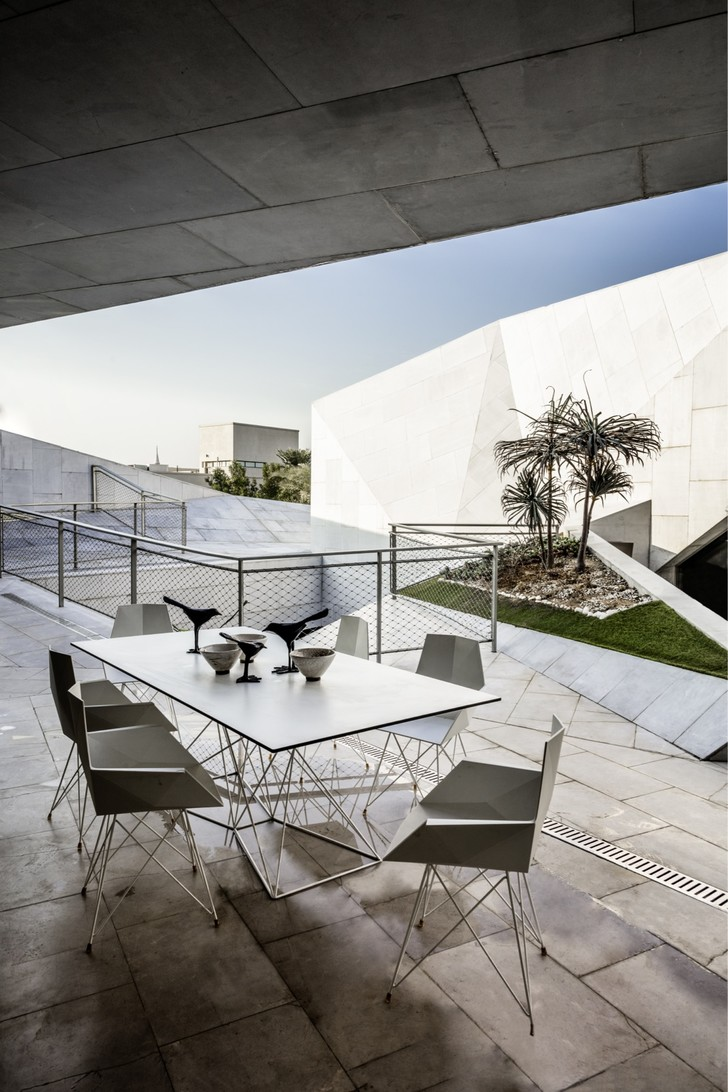 Фото №4 - Необычный дом-оригами в Кувейте: проект студии AGi Architects
