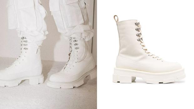 Фото №1 - White fall: белоснежные ботинки Both на платформе
