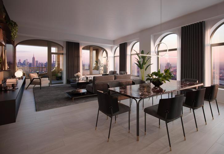 Фото №4 - Апартаменты по дизайну Дэвида Аджайе и Aston Martin