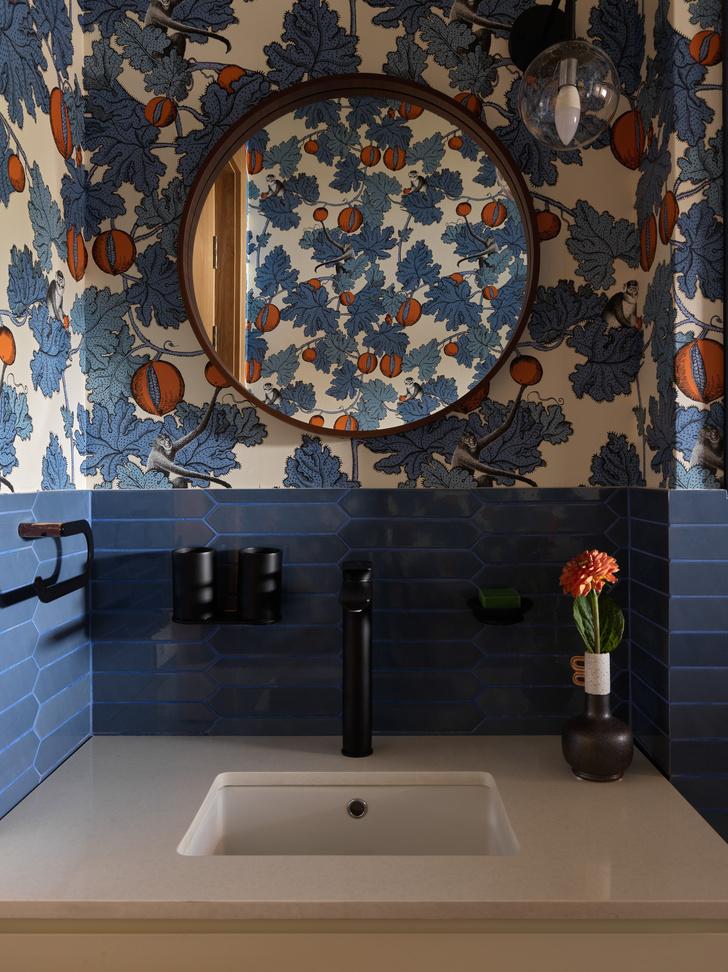 Фото №11 - Загородный дом в пастельных оттенках
