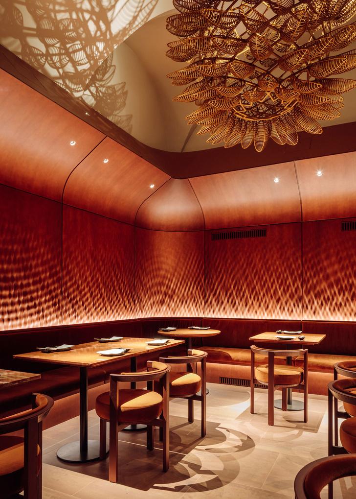 Фото №8 - Ресторан Nómada в терракотовых тонах