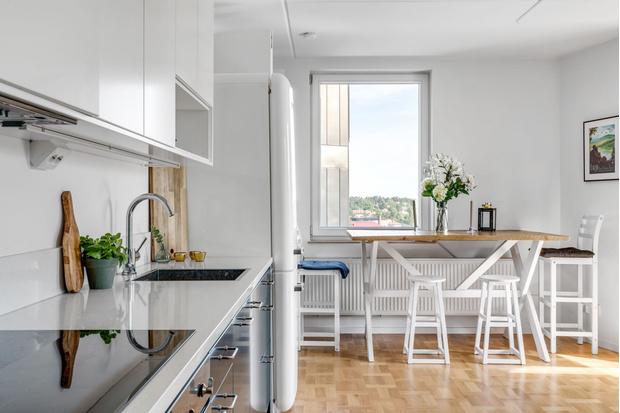 Фото №3 - Маленькая квартира в пригороде Стокгольма