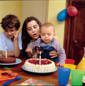 Фото №1 - Первый день рождения