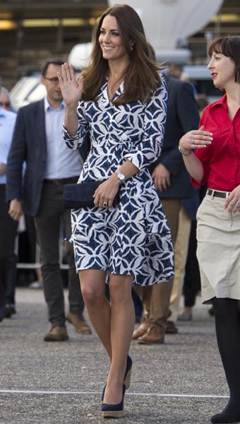 Фото №2 - Кейт Миддлтон надела недорогое платье