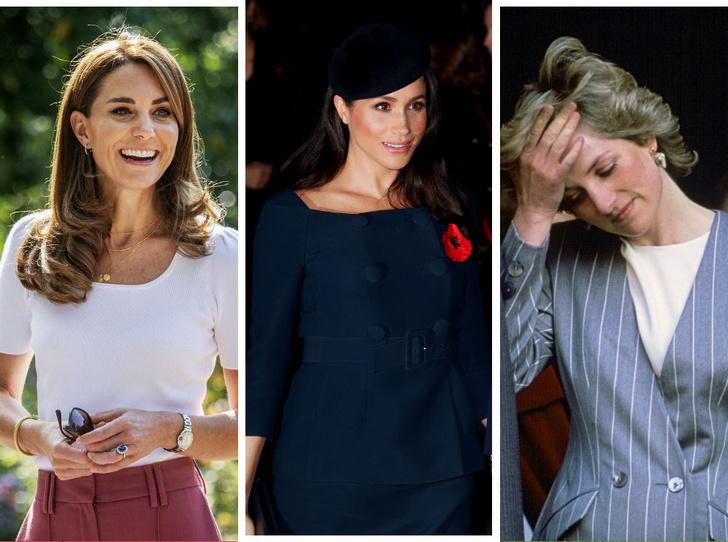 Фото №1 - Почему Кейт смогла контролировать прессу, а Меган и Диана— нет