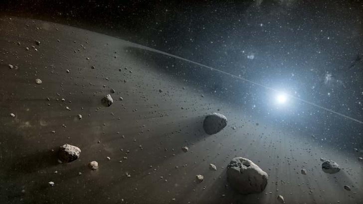 Фото №1 - В поясе астероидов обнаружили два загадочных объекта