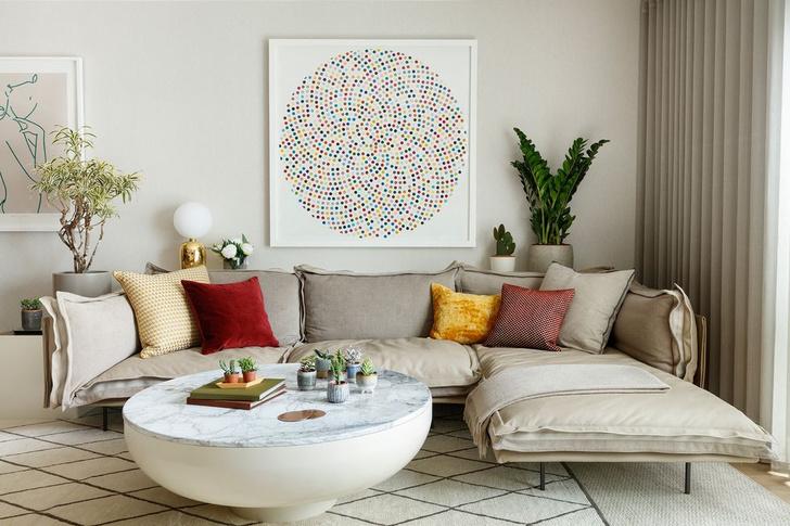 Фото №1 - Элегантная квартира с яркими акцентами в Лондоне