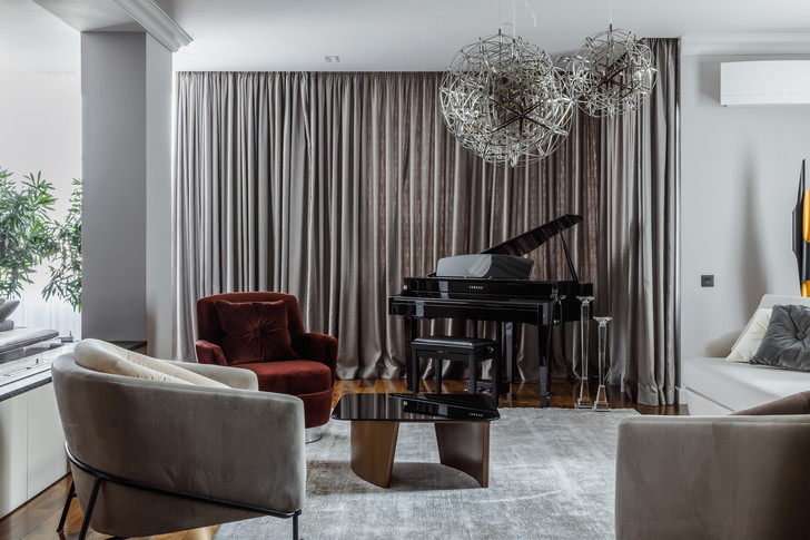 Фото №1 - Квартира с музыкальной гостиной в Ростове-на-Дону