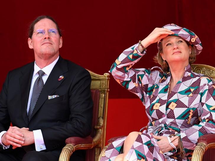 Фото №4 - Самая яркая принцесса Европы: первый официальный выход внебрачной дочери короля Бельгии