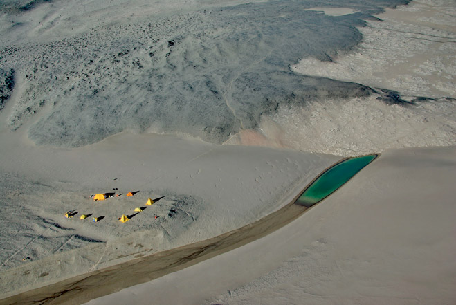 Фото №1 - Самое сухое место на Земле— песчаные дюны Антарктиды