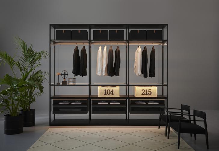 Фото №3 - Storage Black Sugi: новые системы хранения Porro