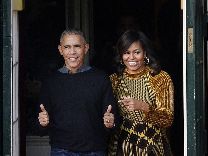 Фото №1 - Испытание чувств: почему Барак и Мишель Обама едва не развелись после Белого дома